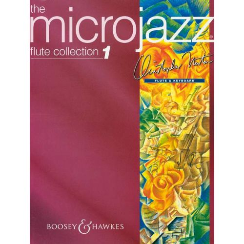 BOOSEY & HAWKES NORTON CHRISTOPHER - MICROJAZZ FLUTE COLLECTION VOL. 1 - FLUTE AND PIANO
