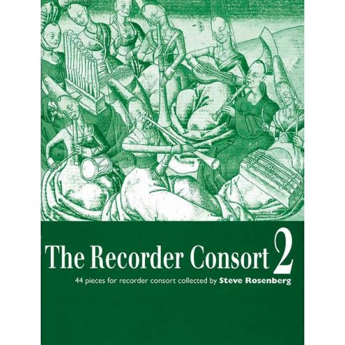 BOOSEY & HAWKES THE RECORDER CONSORT VOL. 2 - 1-6 RECORDERS