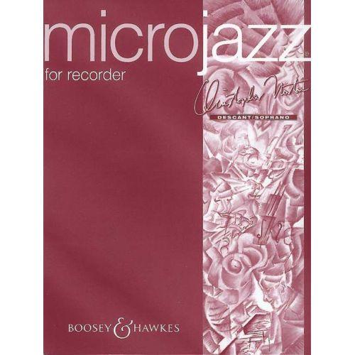 BOOSEY & HAWKES NORTON CH. - MICROJAZZ FOR RECORDER