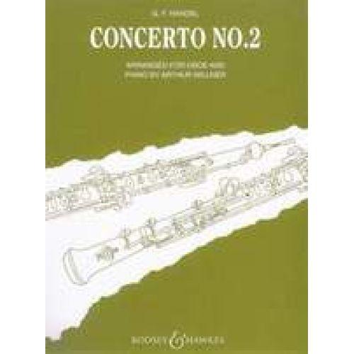 BOOSEY & HAWKES HANDEL - Concerto No. 2 Bb Major