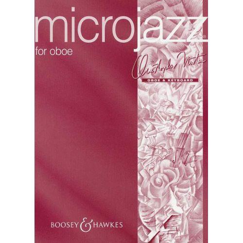 BOOSEY & HAWKES NORTON CHRISTOPHER - MICROJAZZ FOR OBOE - OBOE AND PIANO
