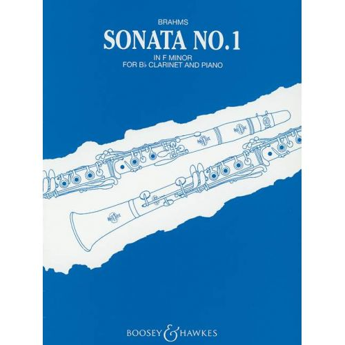 BOOSEY & HAWKES BRAHMS JOHANNES - SONATA 1 IN F MINOR OP. 120/1 - CLARINET AND PIANO