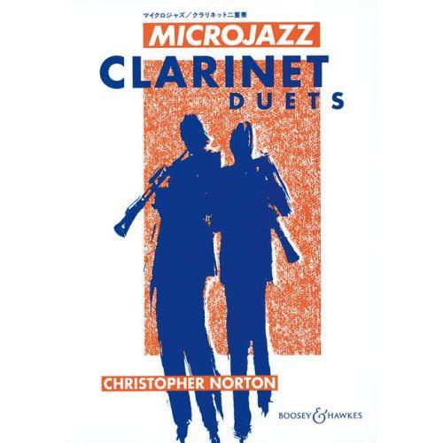 BOOSEY & HAWKES NORTON CHRISTOPHER - MICROJAZZ CLARINET DUETS - 2 CLARINETS