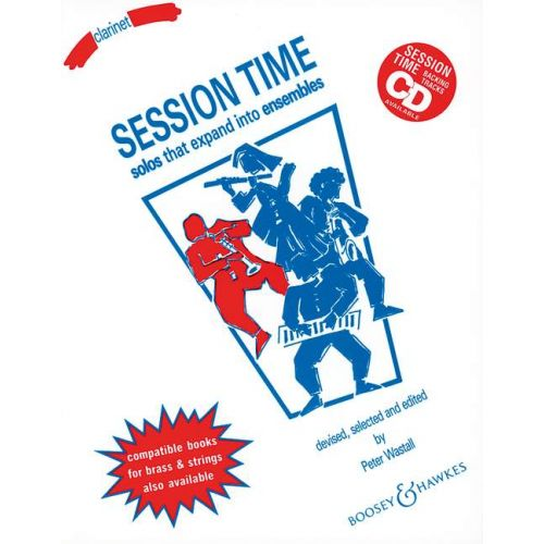 BOOSEY & HAWKES WASTALL PETER - SESSION TIME - CLARINET AND PIANO AD LIB.