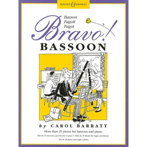 BOOSEY & HAWKES BARRATT CAROL - BRAVO! BASSOON