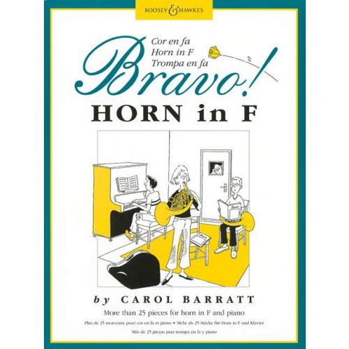 BOOSEY & HAWKES BARRATT CAROL - BRAVO! HORN - HORN AND PIANO