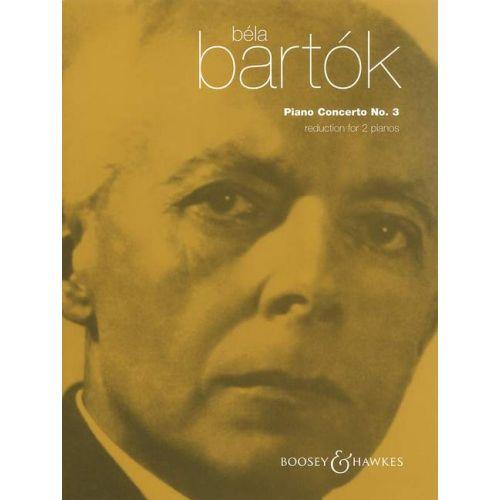 BOOSEY & HAWKES BARTOK BELA - PIANO CONCERTO NO.3 - PIANO AND ORCHESTRA