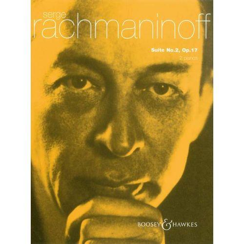 BOOSEY & HAWKES RACHMANINOV S. - SUITE NO 2 OP 17 - PIANO AND ORCHESTRA