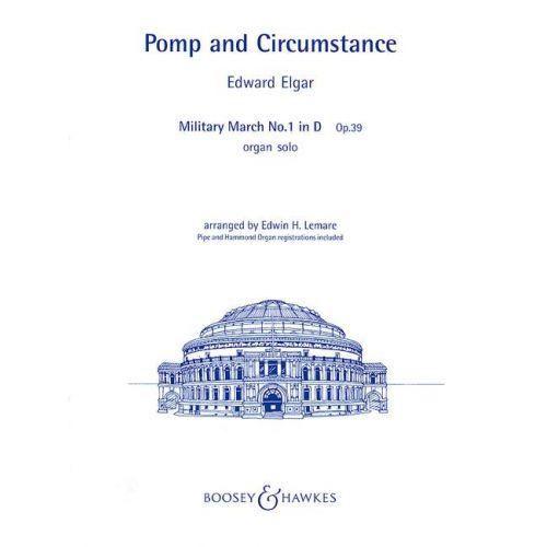 BOOSEY & HAWKES ELGAR EDWARD - POMP AND CIRCUMSTANCE OP. 39 - ORGAN