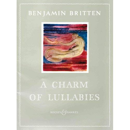 BOOSEY & HAWKES BRITTEN B. - A CHARM OF LULLABIES OP. 41 - MEZZO-SOPRANO AND PIANO
