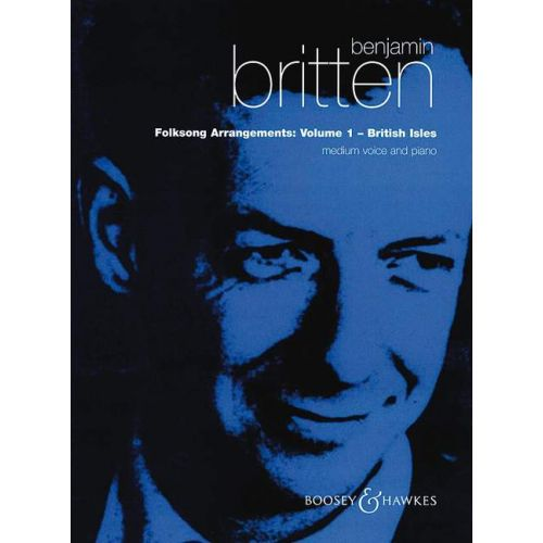 BOOSEY & HAWKES BRITTEN BENJAMIN - FOLKSONG ARRANGEMENTS VOL 1 - HIGH VOICE AND PIANO