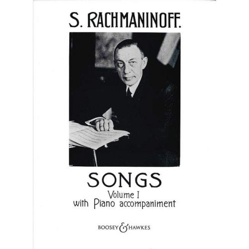 BOOSEY & HAWKES RACHMANINOV S. - SONGS VOL.1 - VOICE AND PIANO