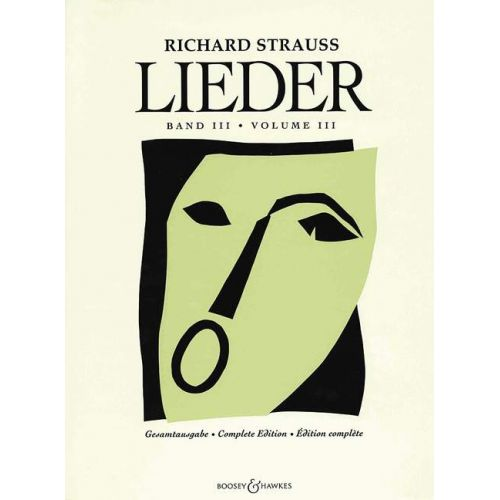 BOOSEY & HAWKES STRAUSS RICHARD - LIEDER BAND 3 - VOICE AND PIANO
