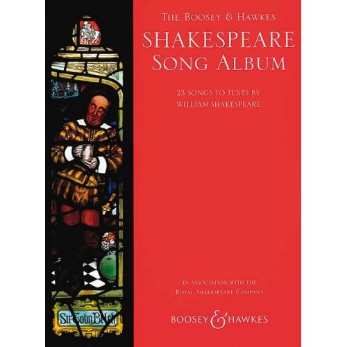 BOOSEY & HAWKES SHAKESPEARE SONG ALBUM - VOICE AND PIANO