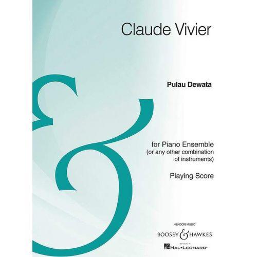 SCHOTT VIVIER C. - PULAU DEWATA - PIANO