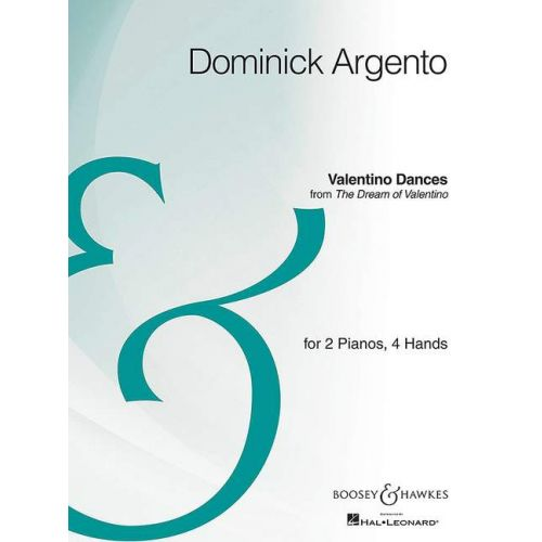 SCHOTT ARGENTO D. - VALENTINO DANCES - PIANO