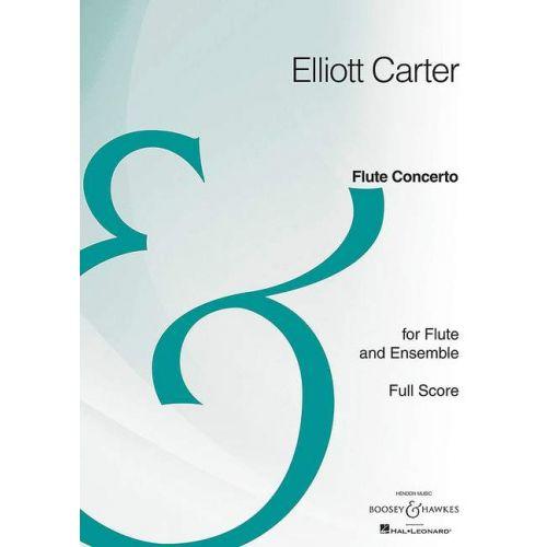 SCHOTT CARTER E. - FLUTE CONCERTO - FLUTE