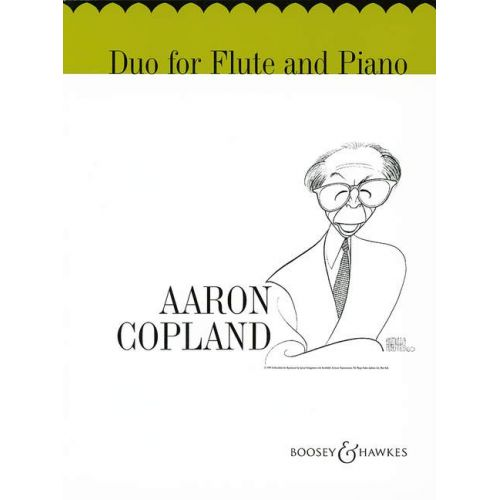BOOSEY & HAWKES COPLAND AARON - DUO - FLUTE AND PIANO