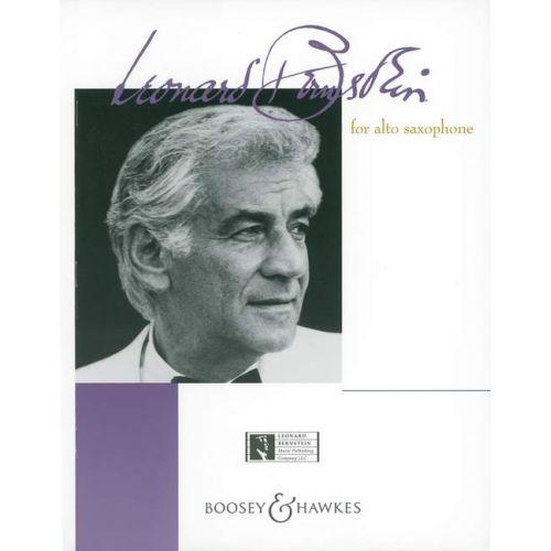 BOOSEY & HAWKES BERNSTEIN LEONARD - BERNSTEIN FOR ALTO SAXOPHONE - ALTO SAXOPHONE AND PIANO