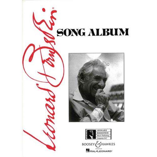BOOSEY & HAWKES BERNSTEIN LEONARD - SONG ALBUM - MEDIUM VOICE AND PIANO