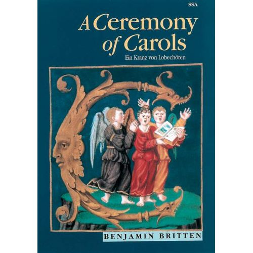 BOOSEY & HAWKES BRITTEN B. - A CEREMONY OF CAROLS OP.28