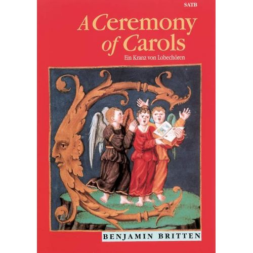 BOOSEY & HAWKES BRITTEN B. - A CEREMONY OF CAROLS OP. 28 - MIXED CHOIR AND HARP