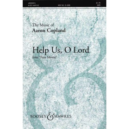 BOOSEY & HAWKES COPLAND AARON - FOUR MOTETS - MIXED CHOIR