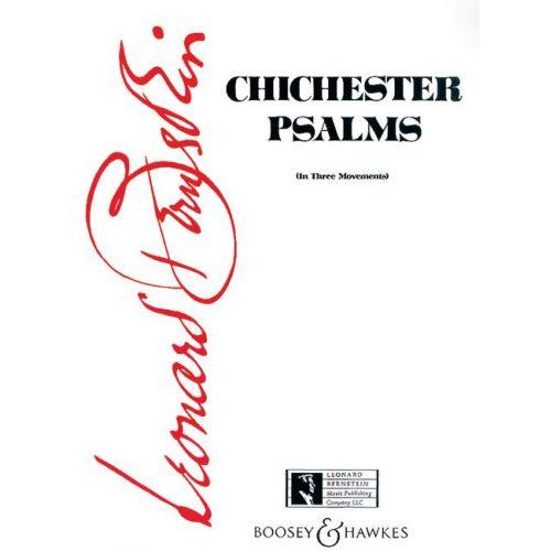BOOSEY & HAWKES BERNSTEIN LEONARD - CHICHESTER PSALMS