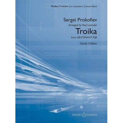 BOOSEY & HAWKES PROKOFIEV S. - TROIKA FROM