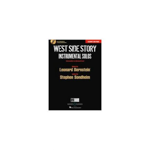 BOOSEY & HAWKES BERNSTEIN LEONARD - WEST SIDE STORY - CLARINET AND PIANO
