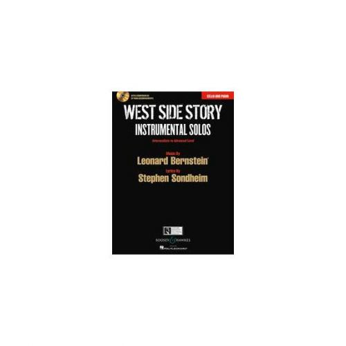 BOOSEY & HAWKES BERNSTEIN LEONARD - WEST SIDE STORY - CELLO AND PIANO