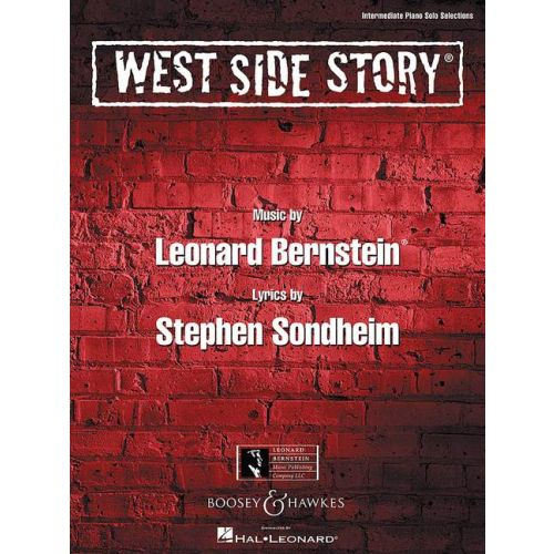 BOOSEY & HAWKES PIANO SOLO SONGBOOK - WEST SIDE STORY - PIANO