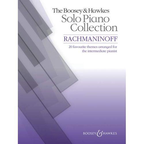 BOOSEY & HAWKES RACHMANINOV S. - BOOSEY & HAWKES SOLO PIANO COLLECTION - PIANO