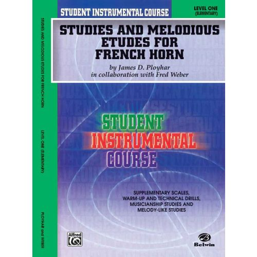 ALFRED PUBLISHING STUDIES AND ETUDES 1 - FRENCH HORN
