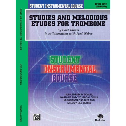 ALFRED PUBLISHING STUDIES AND ETUDES 1 - TROMBONE