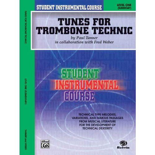 ALFRED PUBLISHING TUNES FOR TECHNIC 1 - TROMBONE