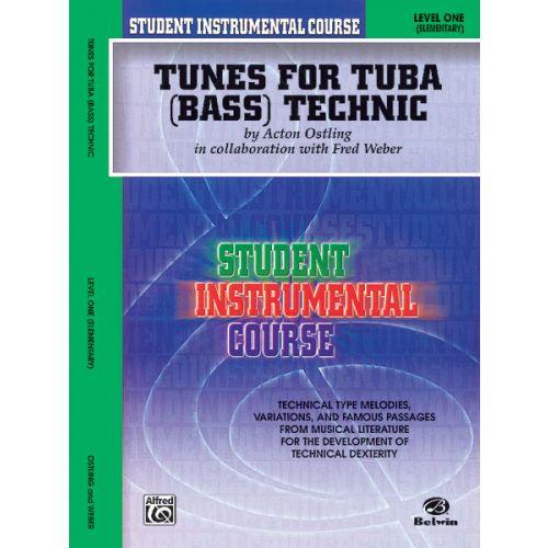 ALFRED PUBLISHING TUNES FOR TECHNIC TUBA 1 - TUBA