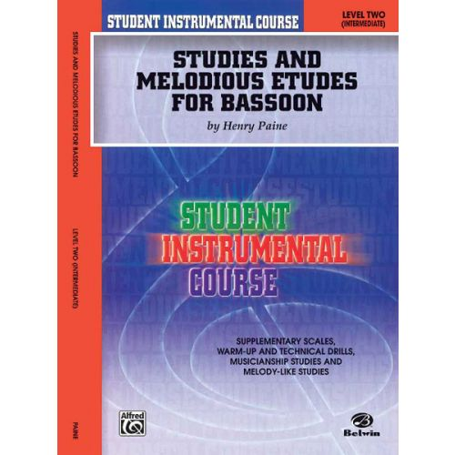 ALFRED PUBLISHING STUDIES AND ETUDES 2 - BASSOON