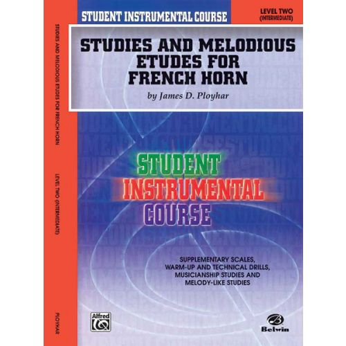 ALFRED PUBLISHING STUDIES AND MELODIOUS ETUDES FOR FRENCH HORN LEVEL 2