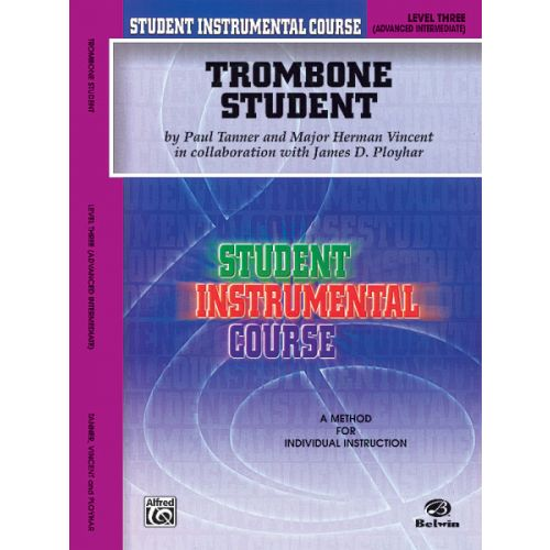 ALFRED PUBLISHING TROMBONE STUDENT 3 - TROMBONE