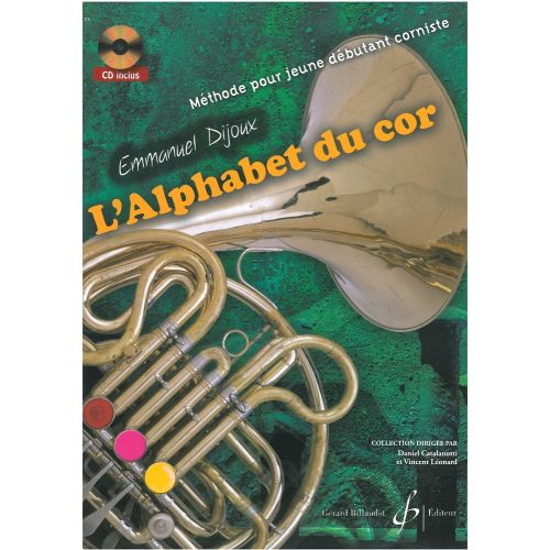 BILLAUDOT DIJOUX E. - L'ALPHABET DU COR + CD
