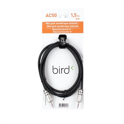 BIRD INSTRUMENTS AC50 - MINI JACK STEREO - 1,5M