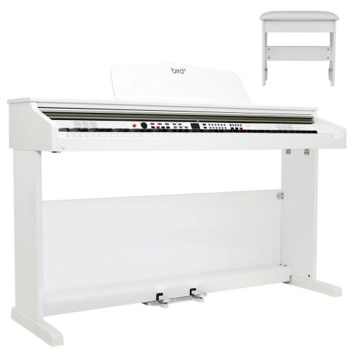 BIRD INSTRUMENTS DP1 WHITE WITH BENCH