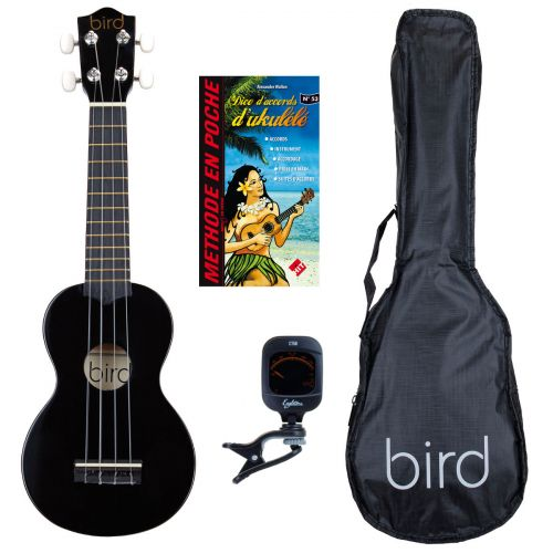 BIRD UK1S BK SOPRANO + ZUBEHOER