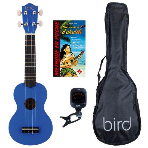 BIRD UK1S BL SOPRANO + ZUBEHOER