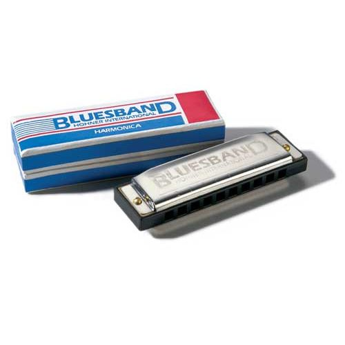 HOHNER DIATONICO 559/20 PLATEADO BLUES BAND 10 AGUJEROS C DO