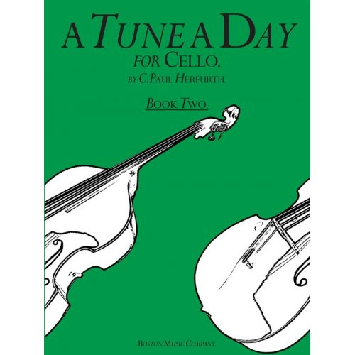 BOSWORTH A TUNE A DAY FOR CELLO BOOK TWO - CELLO