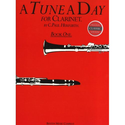 MUSIC SALES HERFURTH PAUL - A TUNE A DAY - BOOK 1 - CLARINET
