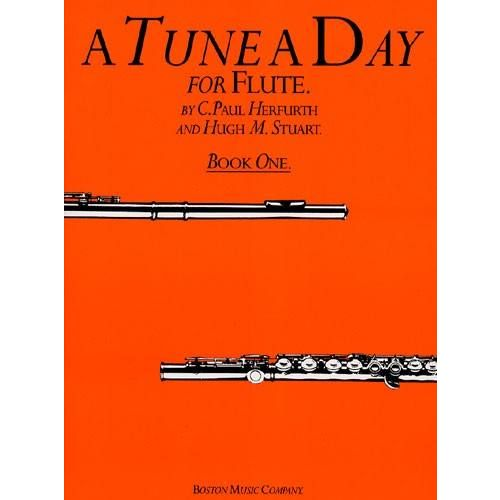 BOSTON MUSIC COMPANY HERFURTH / STUART - A TUNE A DAY FOR FLUTE VOL.1
