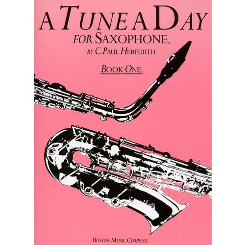 BOSWORTH TUNE A DAY SAXOPHONE - BK. 1 - SAXOPHONE